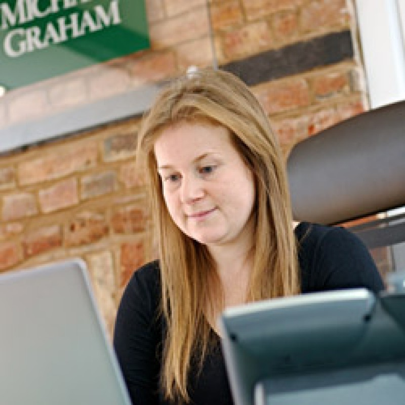 Katie Higgins - Lettings Co-ordinator
